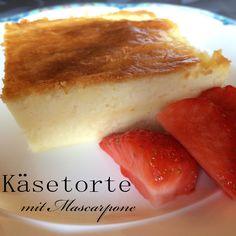 Das Küchenlabyrinth: [Ich backs mir] Käsetorte mit Mascarpone  #ichbacksmir #torte