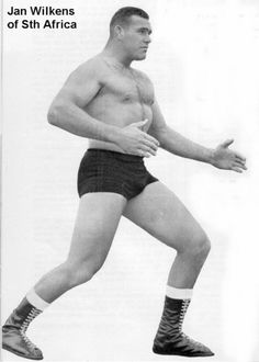 1 of SA's best Wrestling Heroes of all time, Jan Wilkens Rugby, South Africa, Wrestling, Hero, In This Moment, History, Passport, Sports, People