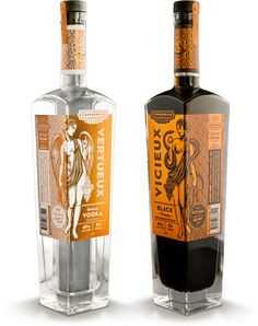 CopperMuse Distillery Vodka - designed by Emrich Office