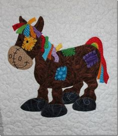 another one of those quilts Quilt Baby, Baby Quilt Patterns, Boy Quilts, Applique Patterns, Applique Quilts, Embroidery Applique, Quilting Projects, Quilting Designs, Sewing Projects