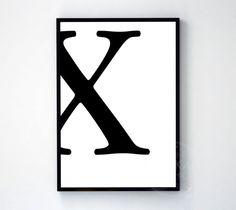 X type character white wall decor design motto swiss scandinavian minimal art modern quote bathroom wardrobe bedroom nordic Modern Quotes, White Wall Decor, Wall Decor Design, Scandinavian Art, White Walls, Motto, Minimal, Art Prints, Type