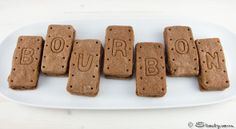 Chocolate Bourbons: I will be baking them with out the Whiskey!!!
