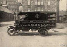 1914 Ambulance Bellevue Hospital | Flickr - Photo Sharing!