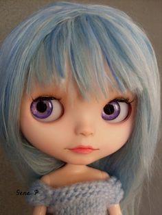 Reserved to Calicogal Custom Blythe ooak art doll door GenePdollshop