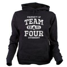 Property of Team Four Hooded Sweatshirt