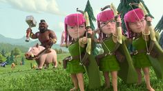 Clash of Clans Soldier Wallpaper