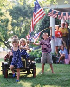 Oh, Say, Can You Shop?  How better to celebrate the Fourth than by suppporting the American Dream? All of these patriotic products are made in the USA.     Get your garlands, fans, flags, and more from Annin, which has been manufacturing flags in the USA for more than 166 years.