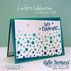 Stampin' Up! Australia: Kylie Bertucci Independent Demonstrator: Crazy Crafters Blog Hop with special Guest Dena Rekow