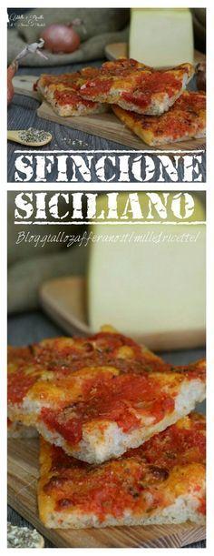 Sfincione Siciliano.... Buonissimo!!!