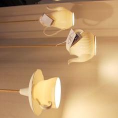 Cute tea pot lamp by ORIGINAL BTC