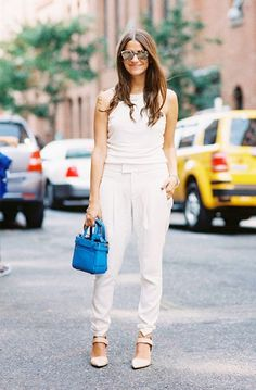 Who What Wear's 30-Day Summer Wardrobe Challenge via @WhoWhatWear