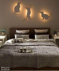Yatak Odaları için Kedi Şeklinde Büyüleyici Lambalar - http://www.kendinyapprojeleri.net/dekorasyon/ev-dekorasyonu/yatak-odalari-icin-kedi-seklinde-buyuleyici-lambalar/