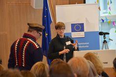 Yhdenvertaisuusvaltuutettu Kirsi Pimiä kuvasi, minkälaisia työkaluja löytyy saamelaisten turvaksi ympäristöpäätöksenteossa.