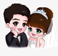 Cartoon bride and groom, Cartoon, Wedding, Bridegroom PNG Image Bride And Groom Cartoon, Wedding Couple Cartoon, Love Cartoon Couple, Cute Cartoon Pictures, Cute Love Cartoons, Anime Love Couple, Cute Anime Couples, Cartoon Images, Cute Couple Drawings
