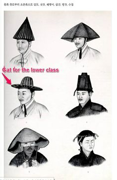 A rough hat of bamboo braid worn by mourners (lowly persons), This hat is called as Pae-raeng-i(패랭이) for the lower class or merchandiser in Chosun(조선=the ancient country in Korea). The rounded shade of this hat is smaller than those for the upper class and the middle class.