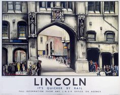 Lincoln Its Quicker By Rail