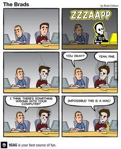Imposible! Es un Mac!