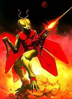 Kronos - Micronauts Card Cover Art by Ken Kelly.