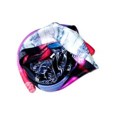 Opera Large Silk Scarf by ESTHER BONTE
