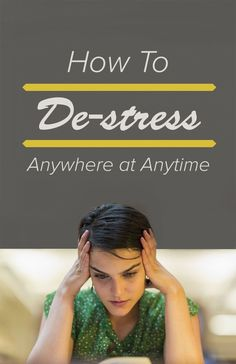 11 ways to de-stress anywhere at any time #stressmanagement http://ncnskincare.com/