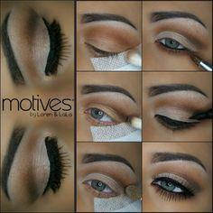 Motives Mavens Element Palette, Jet Black, Black Magic (Eyeliner).