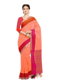 Buy Hug Collection of sarees Like Designer Saree,Wedding Sarees,Cotton Sarees,Party wear Saree and More For All Occasion And Festival, Shop Now Get Discount Up to Off Cash On Delivery Available ! Peach Saree, Sari, Fashion, Saree, Moda, Fashion Styles, Fashion Illustrations, Saris, Sari Dress