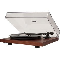 Dot & Bo Streamline Manual Turntable (€340) ❤ liked on Polyvore featuring home, home improvement, fillers, decor, electronics and music