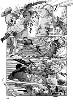 Great fight sequence in Appleseed 4 by  Masamune Shirow