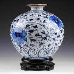 Crackle Glaze Antique Vase