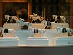 Claudia spotted this fabulous jewellery display in central London on her way to Ascot