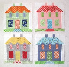 My Home Sweet Home Quilt Block - Quiltmakers 100!!! ...