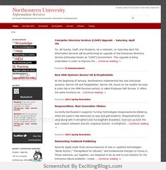 Northeastern University Information Services - Click to visit site:  http://1.33x.us/zbnQ3a