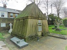 Explorer Sir Richard Burton, St Mary Magdalene Churchyard, Mortlake London.