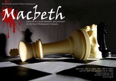 Macbeth Poster/Mailer (UPDATED) : Christopher Welch