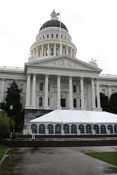 Advocacy Day at the State Capitol Building! We <3 Sacramento
