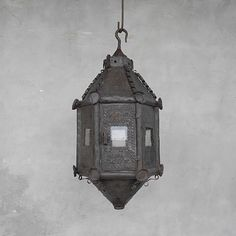 18th c. Processional Lantern from a Church in Lucca, Italy | Chateau Domingue