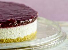 White Chocolate and Cherry Cheesecake #Expo2015 #milan #worldsfair #White #Chocolate #Cherry #Cheesecake