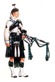 Pipers uniform.