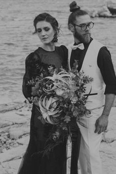 Black and white wedding escape that will steal your heart. Fall in love with these black and white images from this styled shoot in Athenian Riviera. Black N White Images, Black And White, Elopement Inspiration, Couple Goals, Couples, Wedding, Style, Black White, Casamento