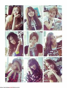 #SNSD Girl Generation // SONE NOTE Come visit kpopcity.net for the largest discount fashion store in the world!!