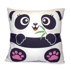Panda Pillow $38.00, via Etsy.