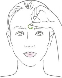 DIY Sinus Solution- I have the worst sinus pressure this time of year. This shows different facial massages to relieve the pressure.