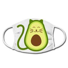 Geschenke Shop   Avocado Katze - Gesichtsmaske Avocado, Shops, Facial Masks, Cats, Tents, Lawyer, Retail, Retail Stores