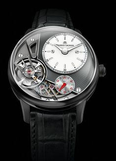 Maurice Lacroix - Masterpiece Gravity #MauriceLacroix Swiss Watchmakers #horlogerie #pontos @calibrelondon