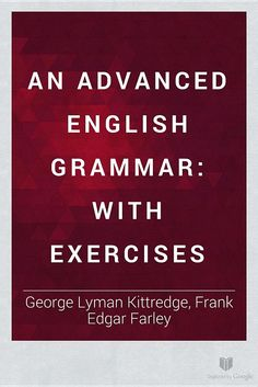 An Advanced English Grammar English Grammar Book Pdf, Advanced English Grammar, English Grammar Worksheets, English Book, Learning English, English Language, Cae Cambridge, Cambridge English, English Tips