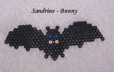Bat Halloween hama beads