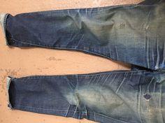 Levi's 511 Wet Indigo Selvedge around 250 Days - Denim Fades - Heddels Forum