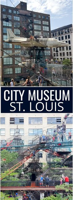 City Museum St. Louis Missouri. Things to do with kids in St. Louis.