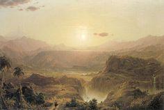 (Frederic Edwin Church) The Andes of Ecuador [colour, composition]
