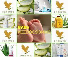 Baba csomag Forever Living Aloe Vera, Forever Living Business, Forever Life, Forever Living Products, Muscle Pain, Massage